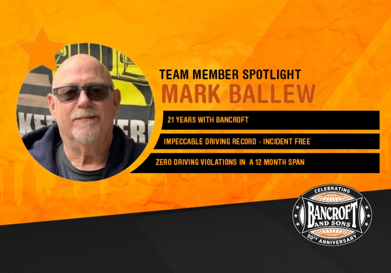 Driver Spotlight - Mark Ballew