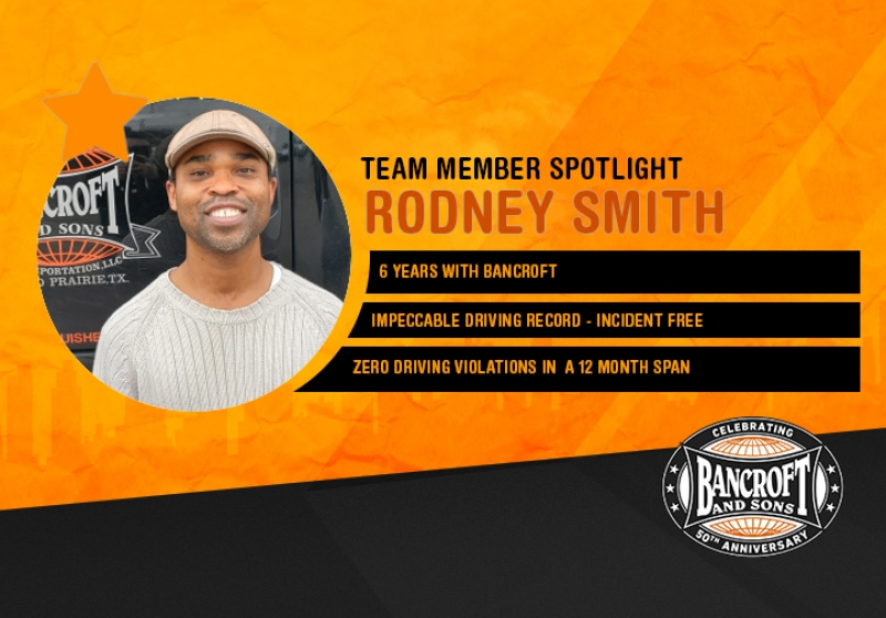 Driver Spotlight - Rodney Smith