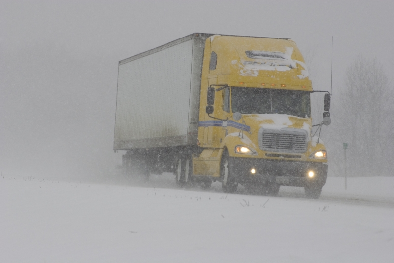9 Winter Driving Tips for Truckers